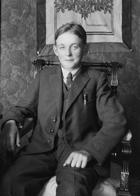 Ilmari Mäkinen 1923  Satakunnan Museo kuva-arkistot